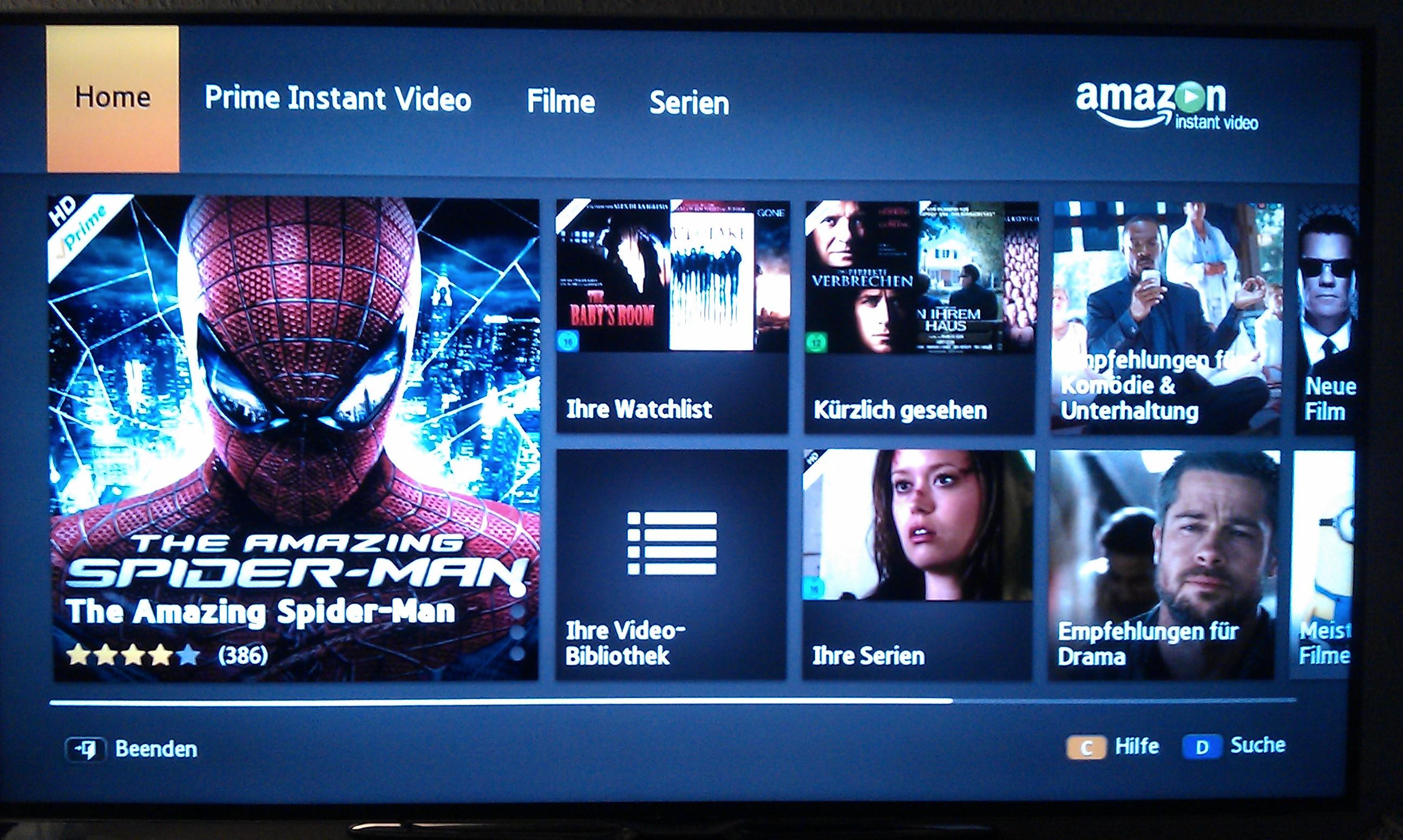 Amazon Prime Auf Smart Tv