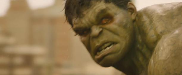 Hulk Augen Avengers 2 Trailer