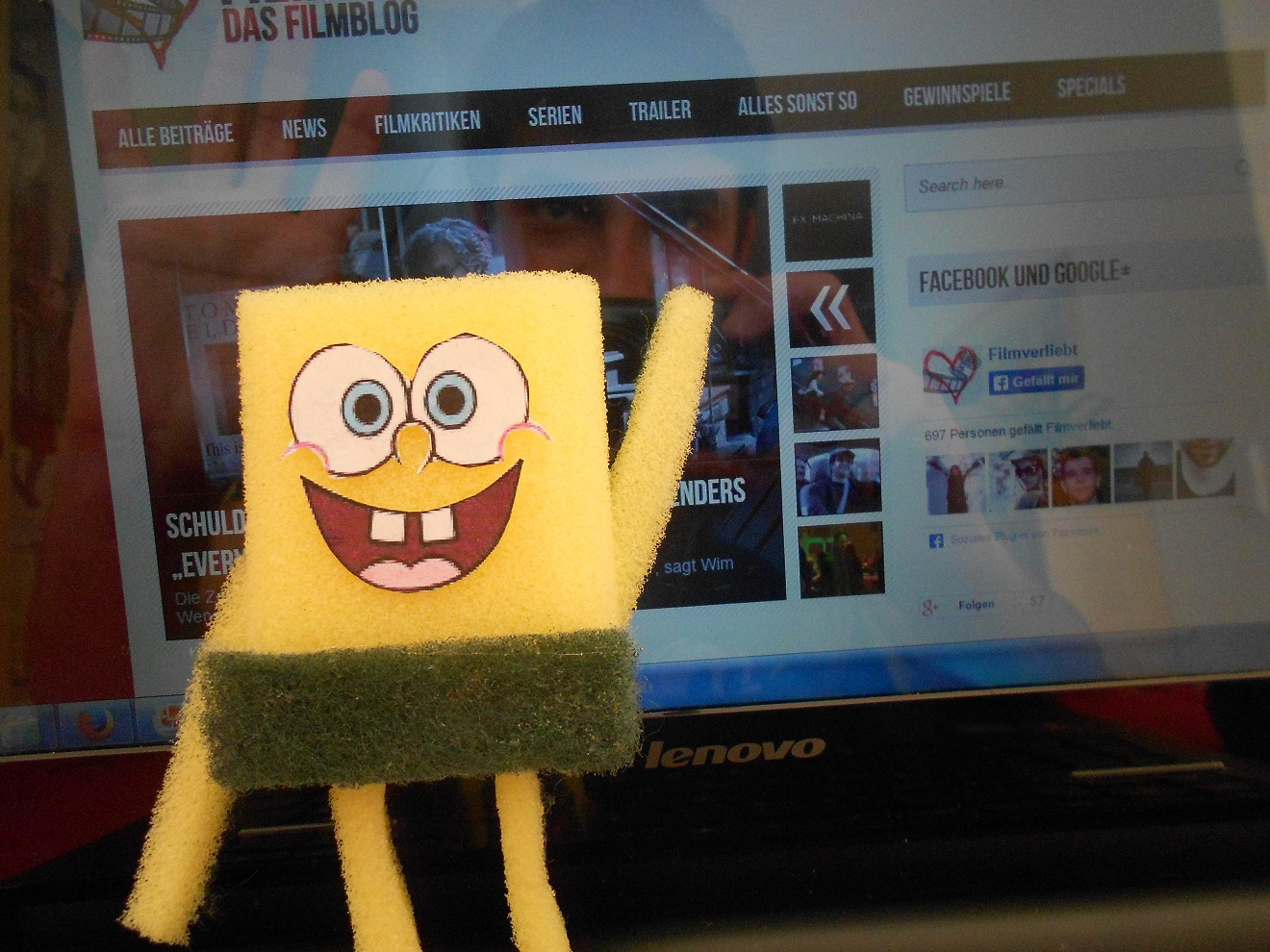 spongebob schwammkopf mag filmverliebt