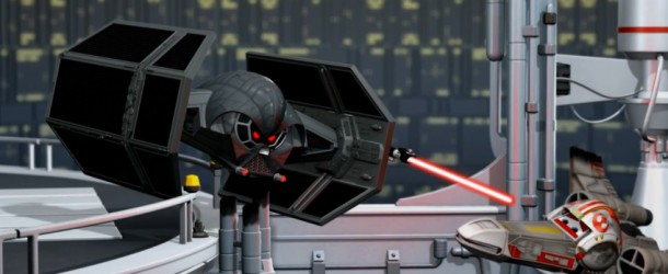 Star Wars: Disney Pixar's X-Wing? Eine Parodie