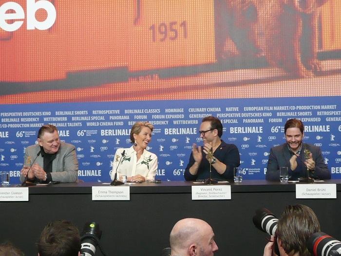 jeder stirbt für sich alleine - berlinale pressekonferenz 2016
