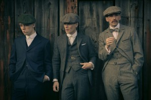 Die drei Köpfe der Peaky Blinders: (von links) Joe, Tommy und Arthur. © Netflix
