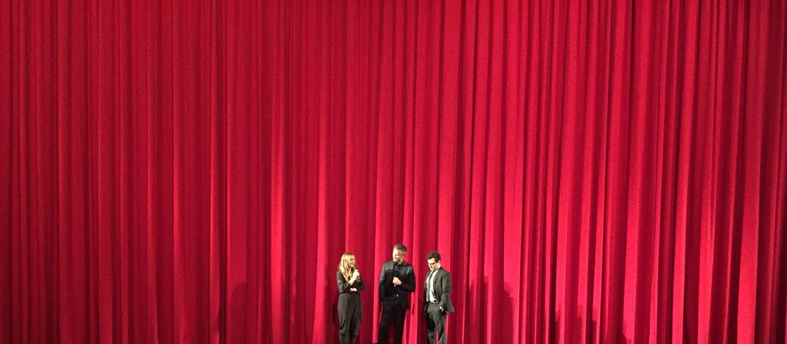 Drew Barrymore und Timothy Olyphant bei der santa clara diet premiere in berlin