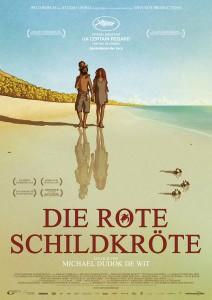 """Die rote Schildkröte"" Poster - (c) Universum Film"