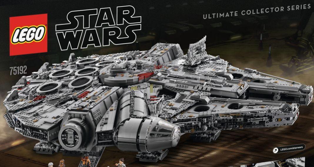 Star Wars: Lego präsentiert Millennium Falcon mit 7500 Einzelteilen