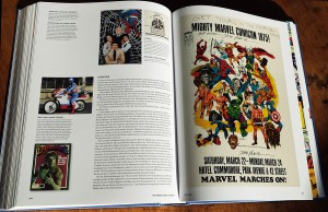 The Marvel Age of Comics Bick ins Innere Layout