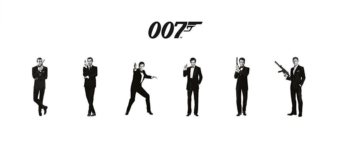 James Bond Schauspieler Reihenfolge